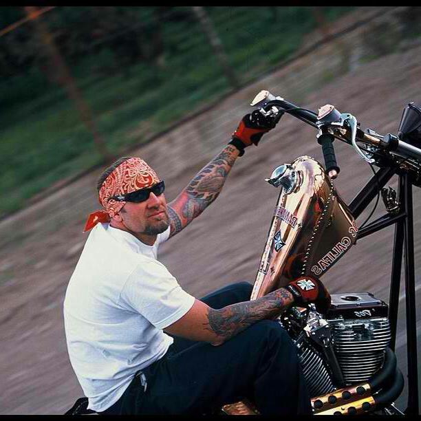 Biker tattoo picture for men