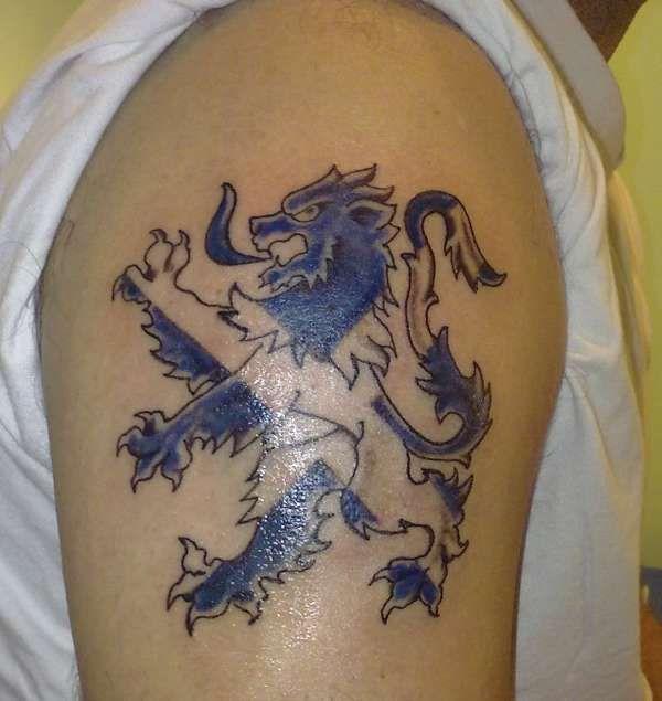 Glasgow Rangers tattoo