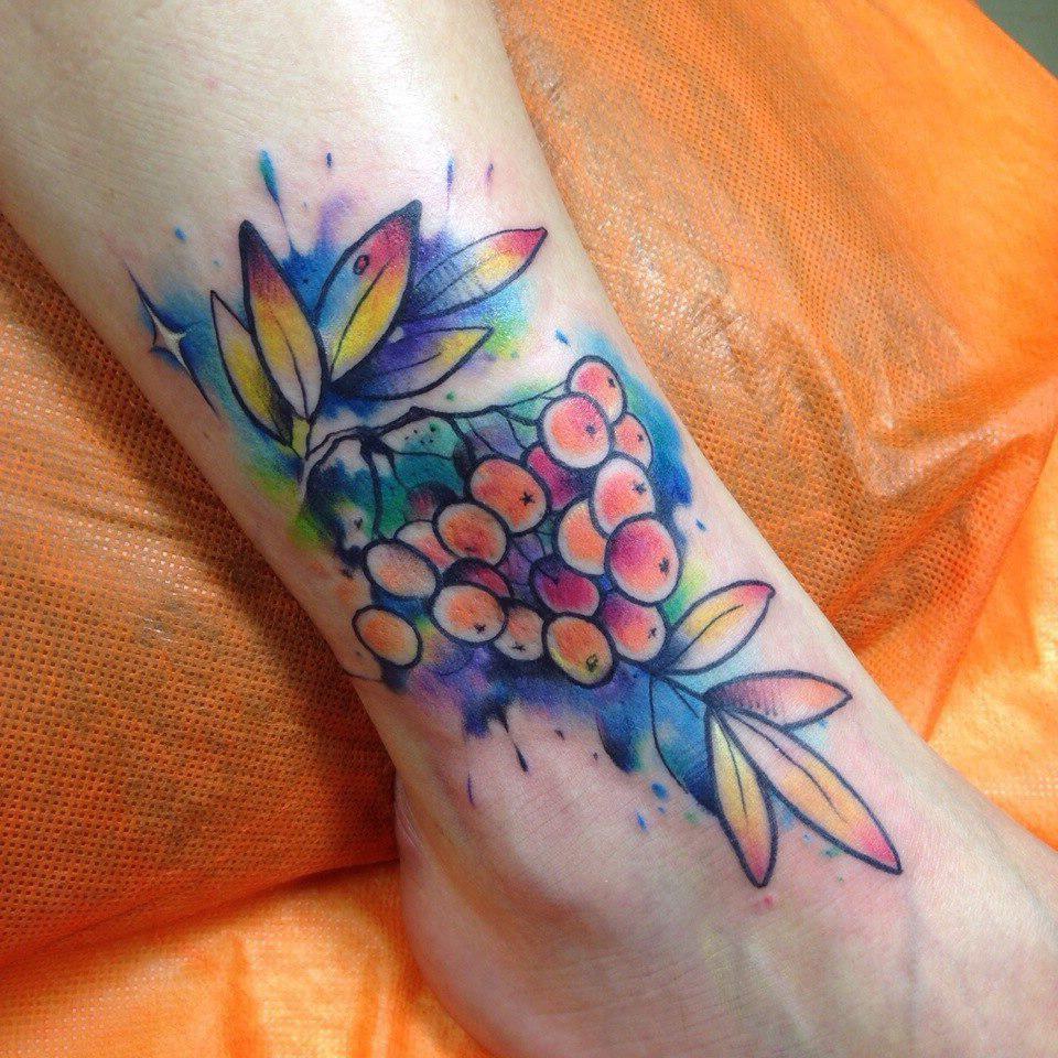 Rowan Bunch tattoo