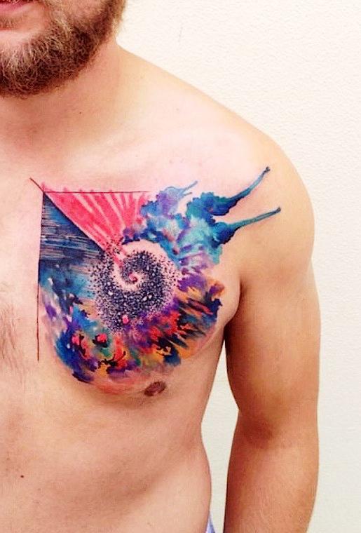 Thunder Heart tattoo