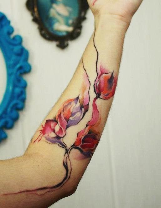 Upcomming Beauty Unopened Buds tattoo