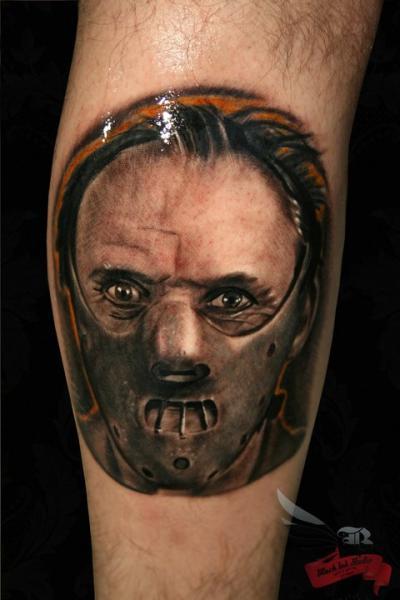 Ganibal Realistic tattoo by Black Ink Studio