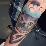 Amazing Owl tattoo by Jack GOKS Pearce