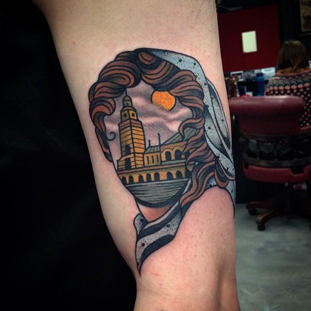 Homesick Kalgoorlie Girl tattoo Wa Ink Tattoo