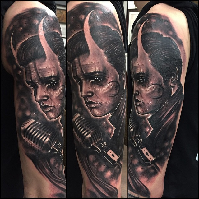 Devil Elvis Tattoo