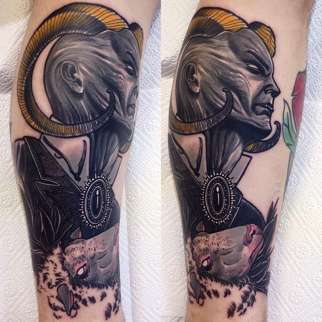 Pure Devil tattoo