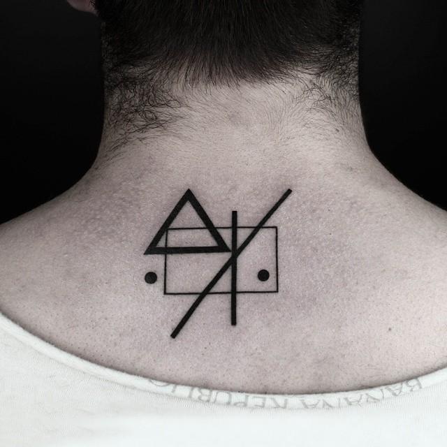 Home Symbol Geometry tattoo