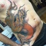Side Stomach Dragon