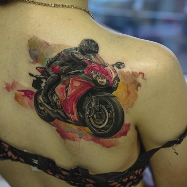 Speed Biker tattoo