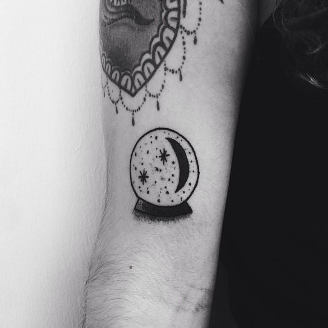 Wizard Ball Small tattoo