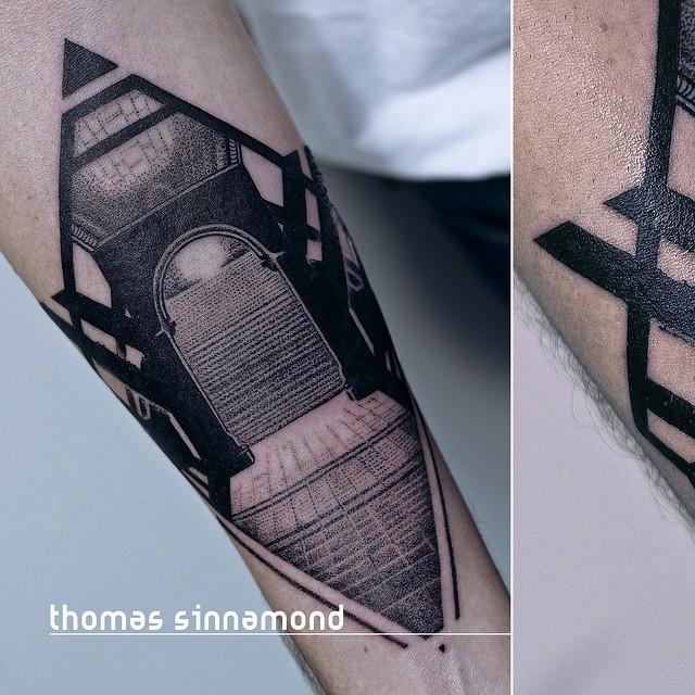 Dark Portal Tattoo