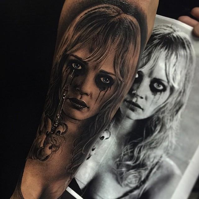 Planet Terror Realistic Tattoo