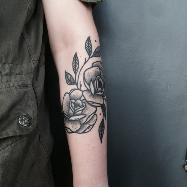 Tattoo of Roses