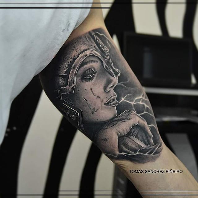 Thunder Goddess Tattoo