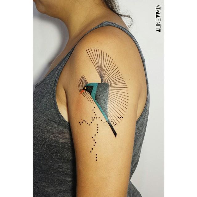blue bird tattoos