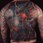 Dragon tattoo: Features and Designs.