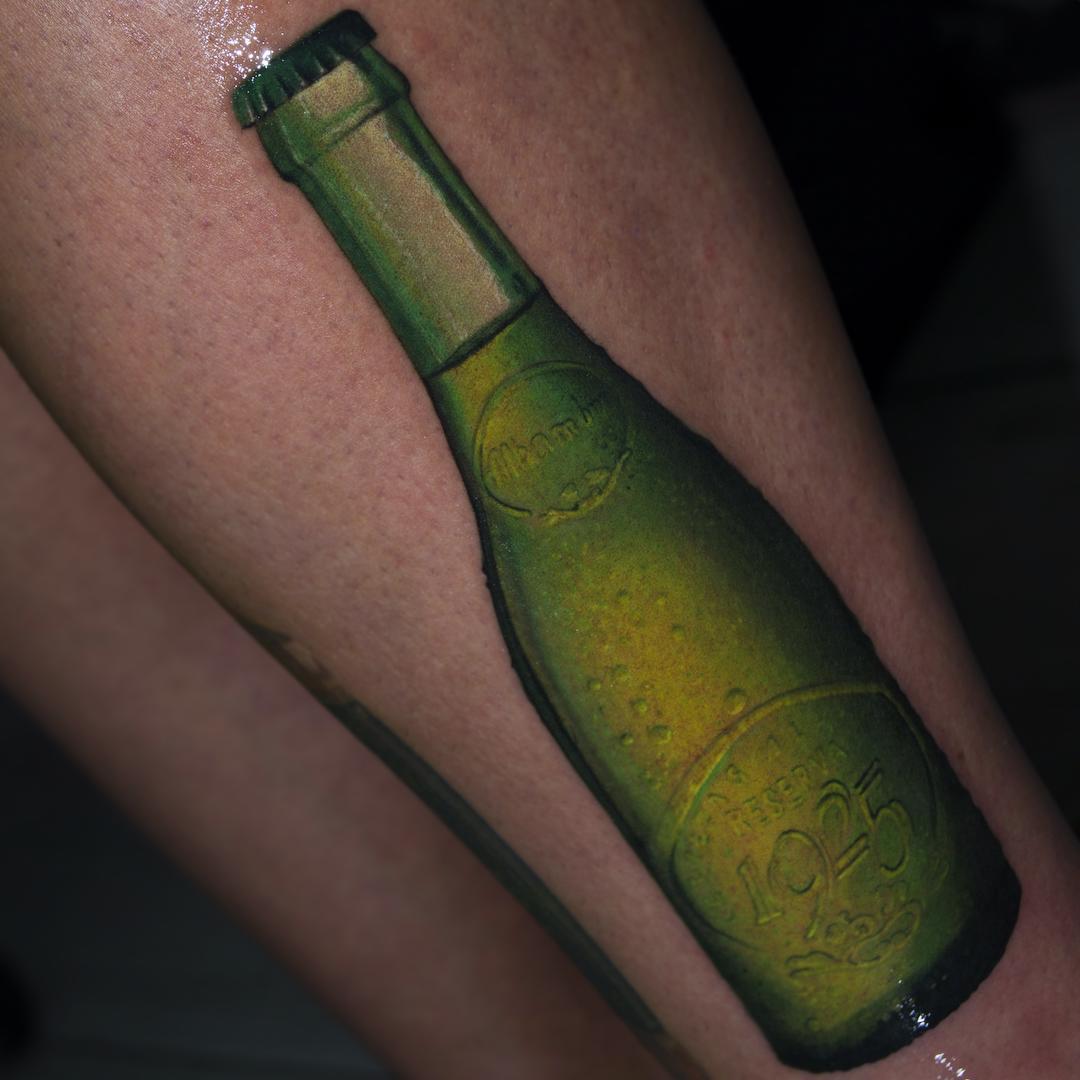 Alhambra Bottle Tattoo