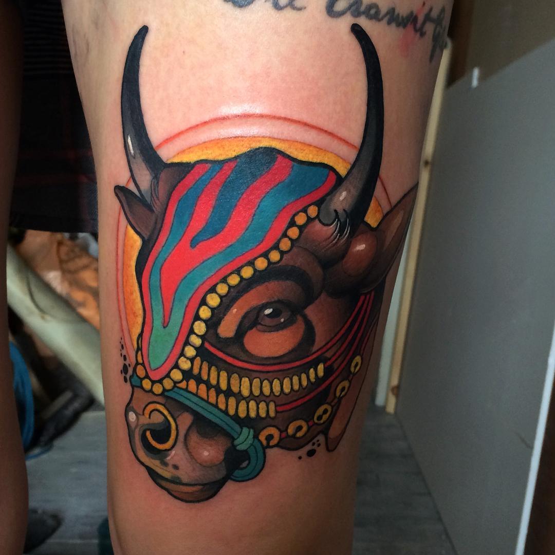 Corrida Toro Tattoo
