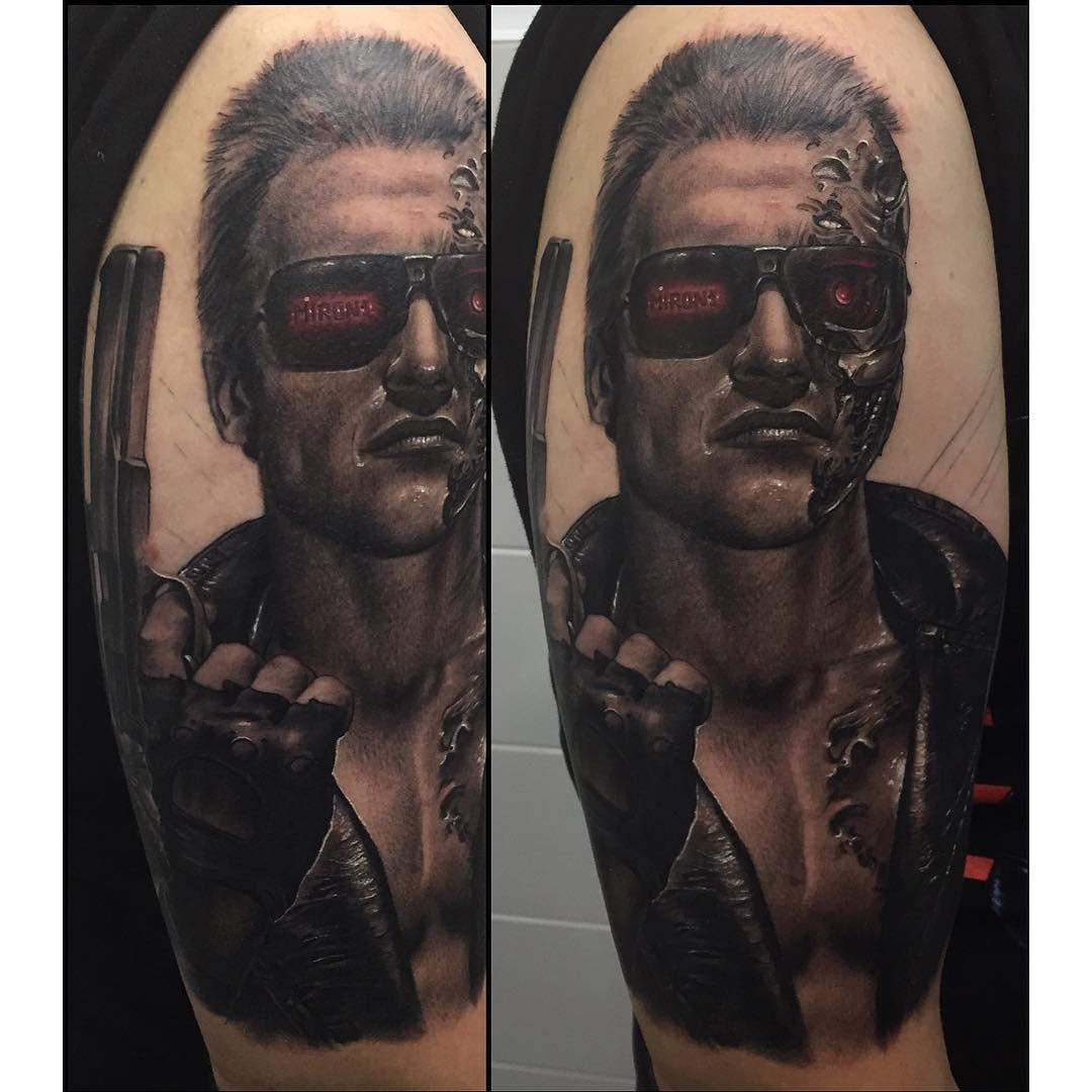 Terminator T-600 Tattoo