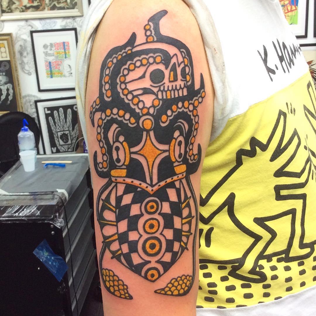 Tribal Mark Tattoo