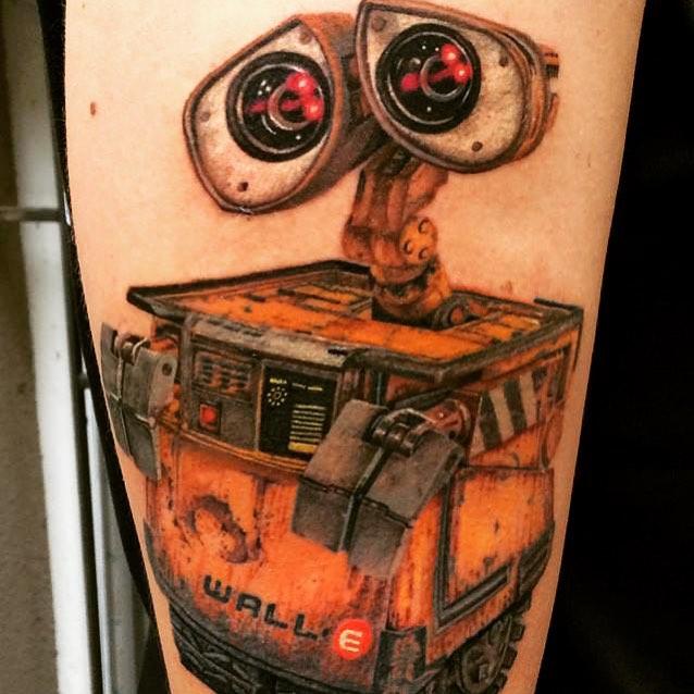 Wall-E Tattoo