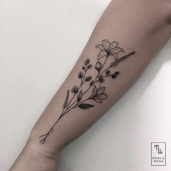 Beautiful Flower Tattoo
