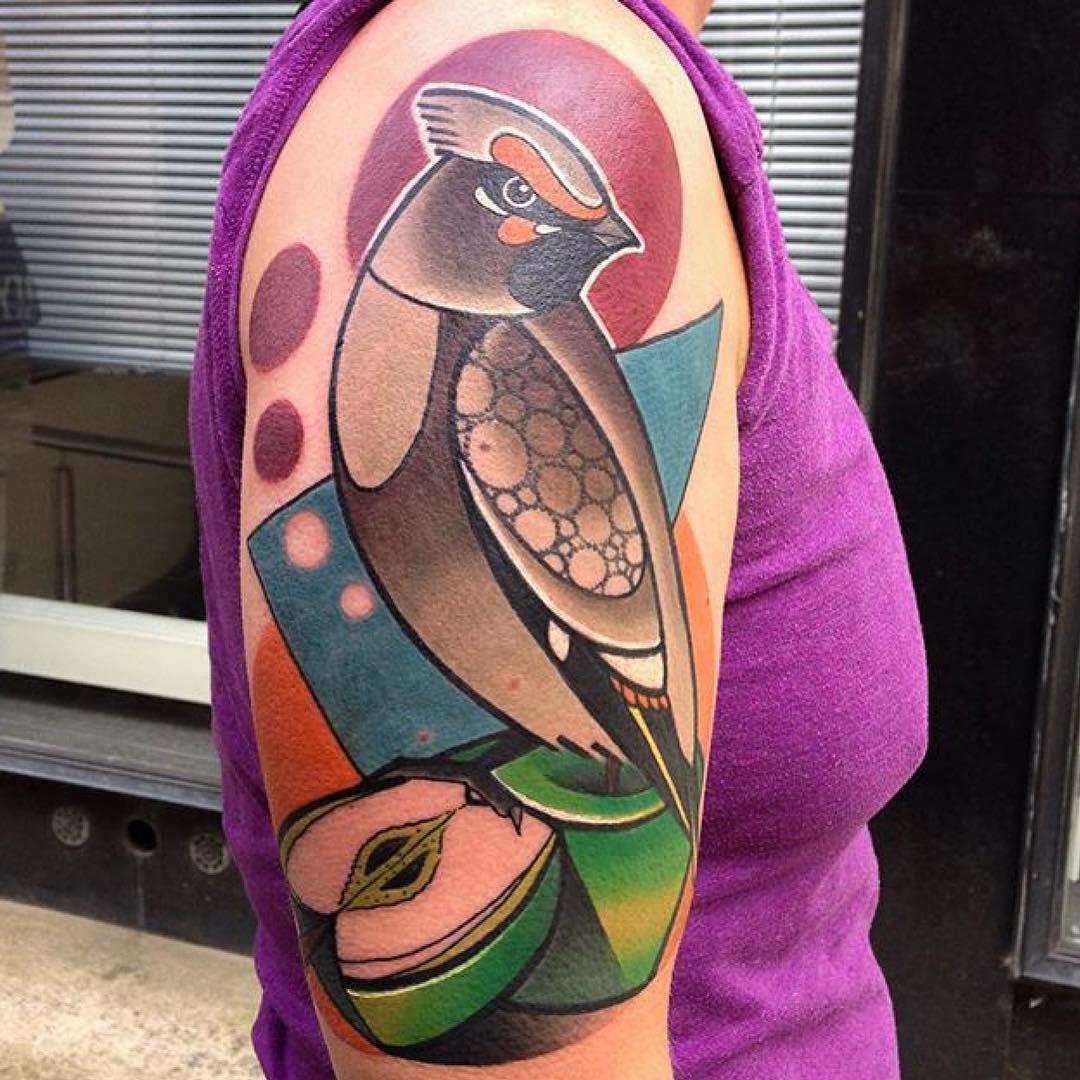 Bird Shoulder Tattoo