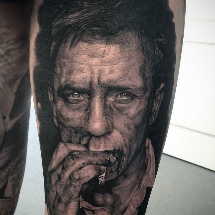 Daniel Craig Tattoo