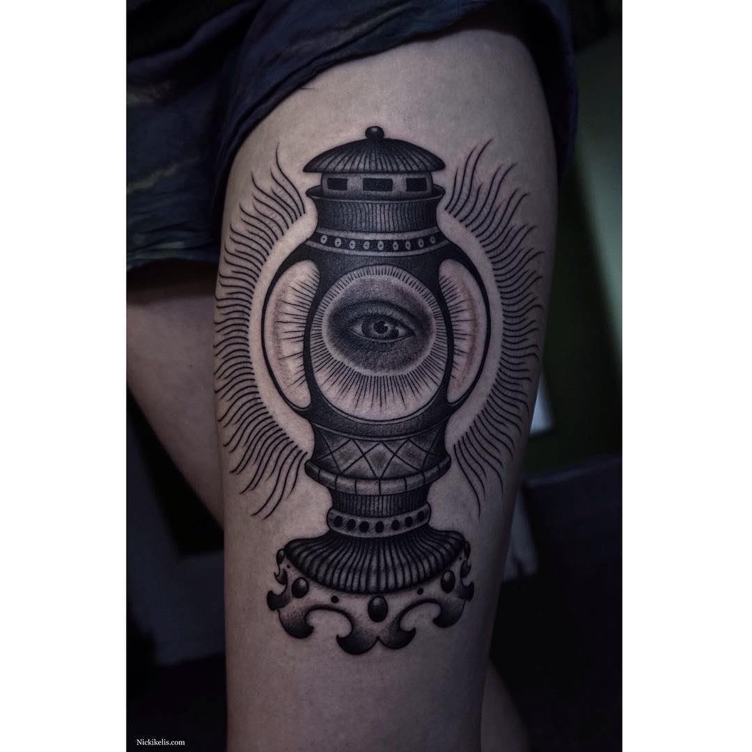 Eye Symbol Tattoo