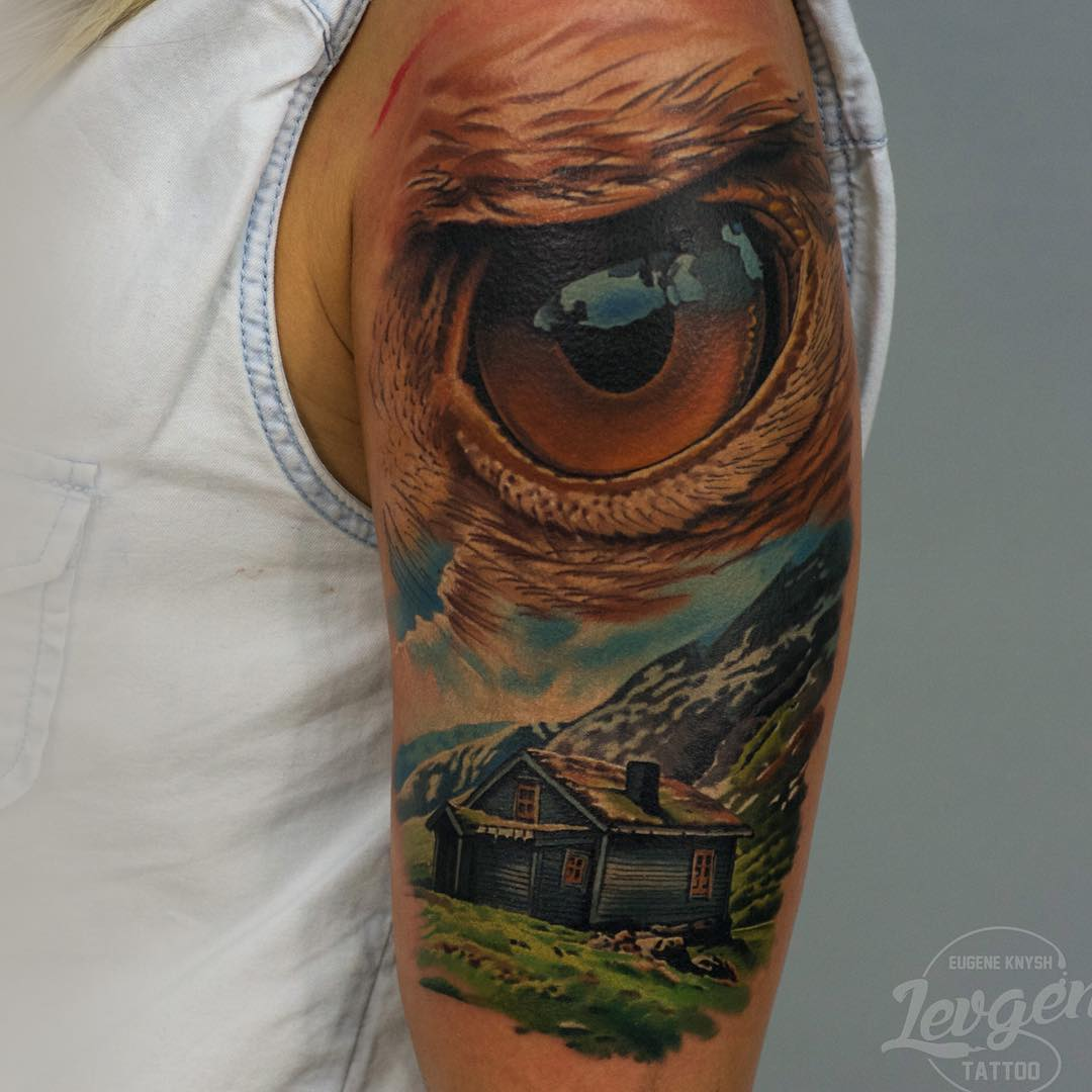 Eye Tattoo Shoulder