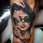 Fight Club Marla Tattoo