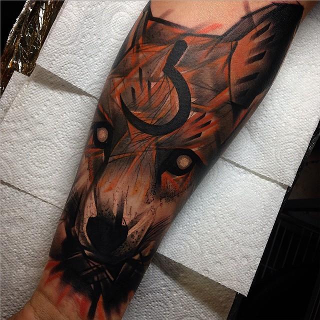 Fox Sleeve Tattoo