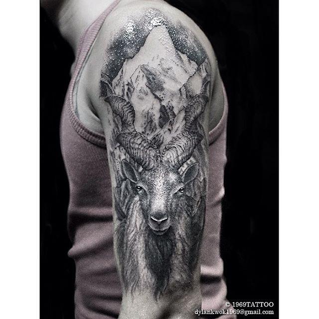 Mountain Goat Tattoo