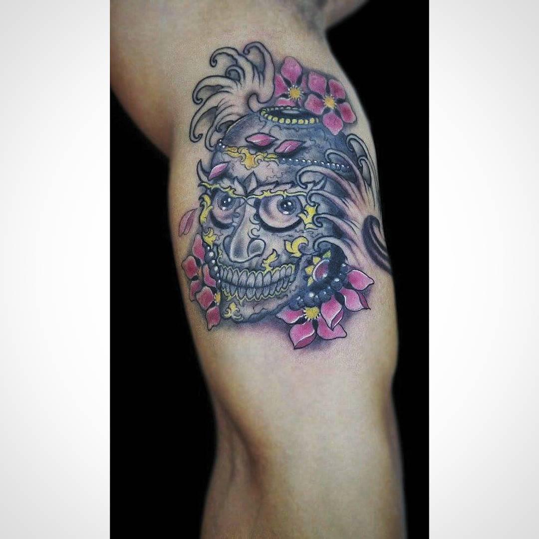 Tibetan Skul Tattoo
