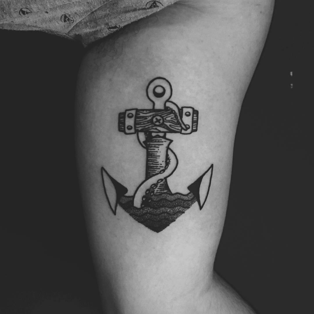 Anchor Arm Tattoo