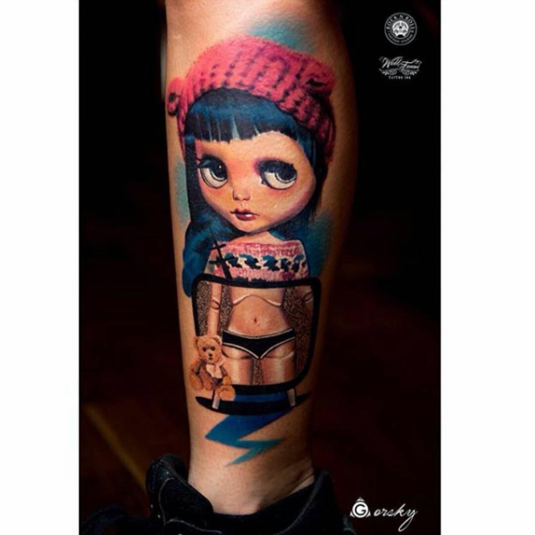 Cute Tattoo Girl