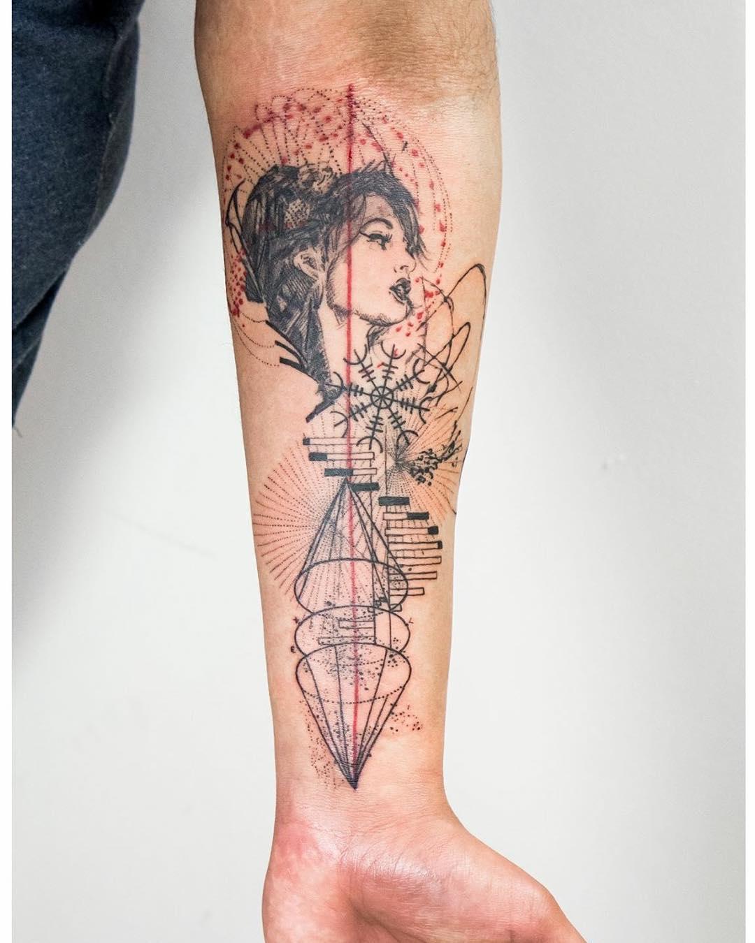 Prosperities Tattoo on Arm