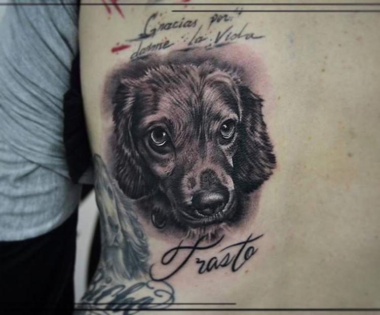 Puppy Tattoo