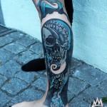 Skull Tattoo Drawing
