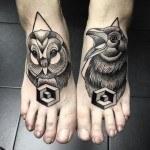 Cool Foot Tattoos