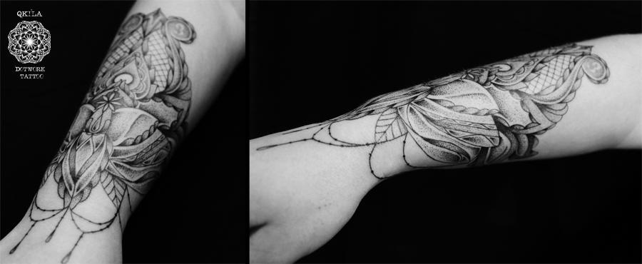 wrist tattoo ornament