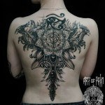 Back Tattoo For Girl