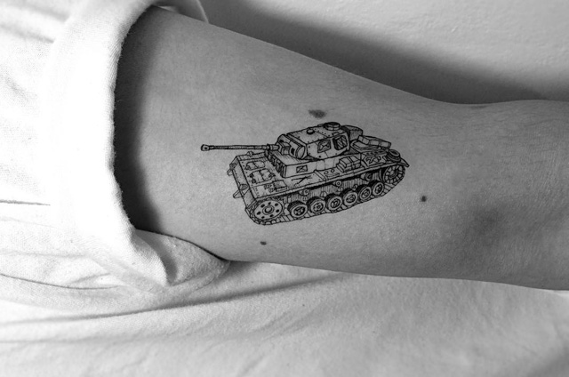 tank tattoo