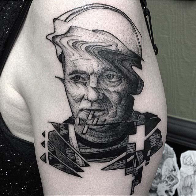 Bill Murray Tattoo portrait