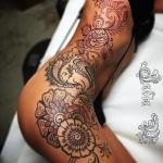 Side Tattoo Girl