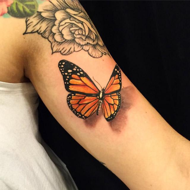 3D Tattoo Butterfly