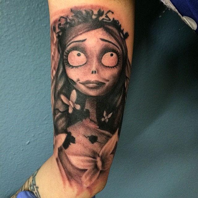 Bride's Corpse Tattoo