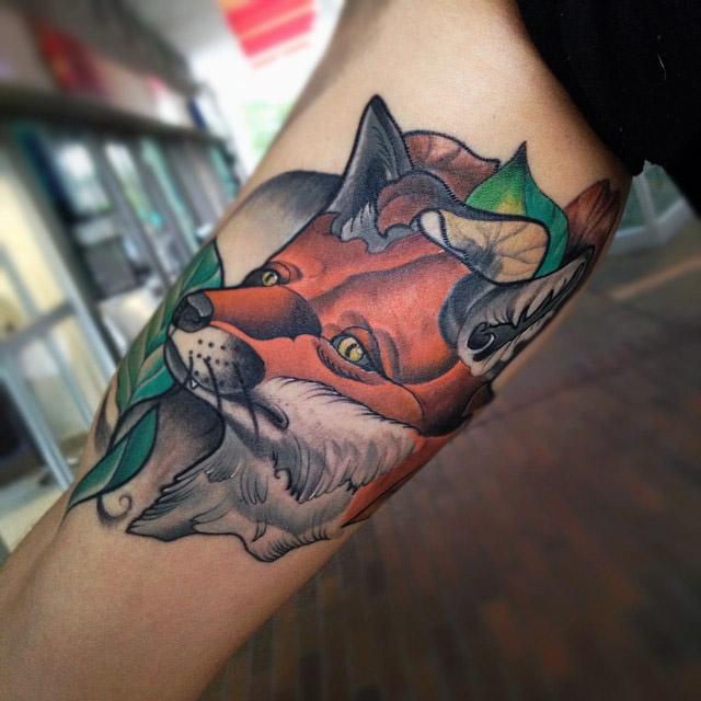 Fox Tattoo Art
