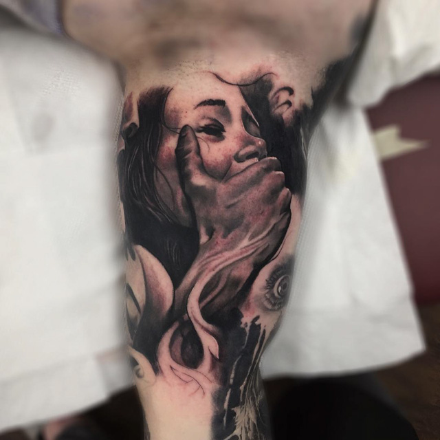 Inner Bicep Tattoo Pain by sean_foy3