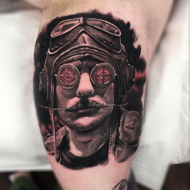 Pilot Tattoo by sean_foy2